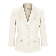 Buy Precis Petite Pintuck Linen Jacket Online at johnlewis.com