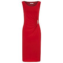 Buy Precis Petite Jersey Dress, Poppy Red Online at johnlewis.com
