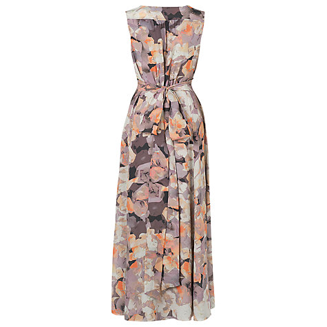 Buy L.K. Bennett Basilia Floral Dress, Grey/Multi Online at johnlewis.com