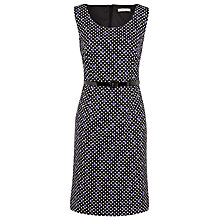 Buy Precis Petite Polka Dot Dress, Black Online at johnlewis.com