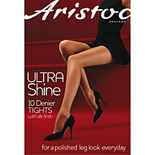 Buy Aristoc 10 Denier Ultra Shine Tights, Vaguely Black Online at johnlewis.com