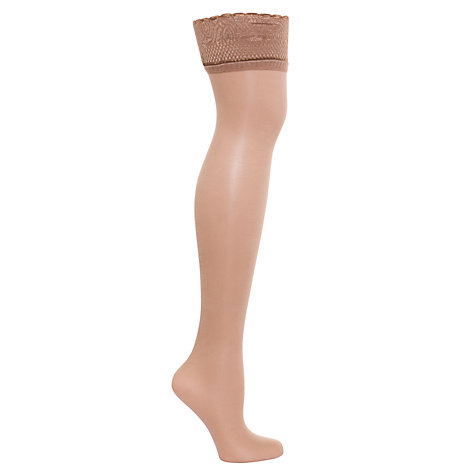 Buy Aristoc Ultra Shine Hold Ups Online at johnlewis.com