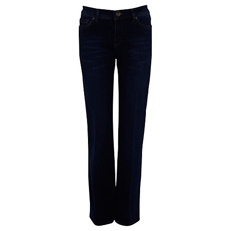 Buy Oasis Scarlet Jeans, Mid Wash Blue Online at johnlewis.com
