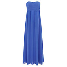 Buy Oasis Pleated Bodice Prom Dress Online at johnlewis.com