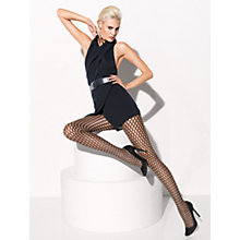 Buy Wolford Sylvie Tights, Black Online at johnlewis.com