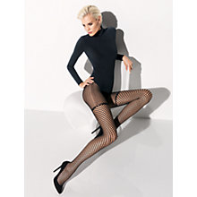 Buy Wolford Amelia Tights, Black Online at johnlewis.com