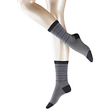Buy Falke Cosy Stripe Ankle Socks Online at johnlewis.com
