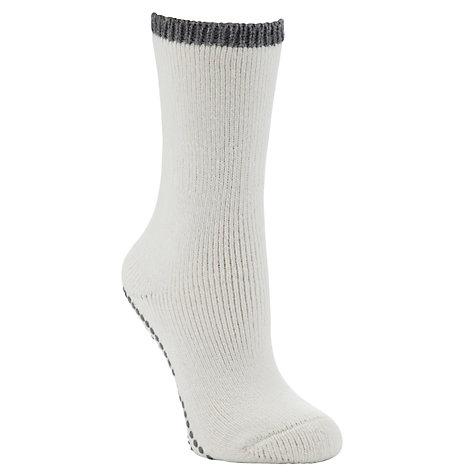 Buy Falke Cuddle Pad Ankle Socks, Cream Online at johnlewis.com