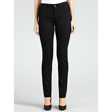 Buy Armani Jeans Power Stretch Slim Leg Jeans, Black Online at johnlewis.com