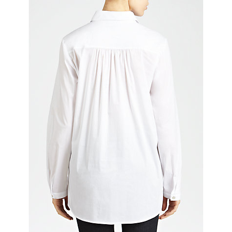 Buy Armani Jeans Tunic Shirt, White Online at johnlewis.com