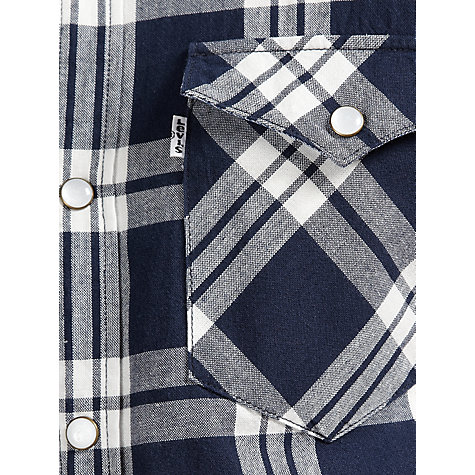 Buy Levi's Check Western Short Sleeve Shirt Online at johnlewis.com
