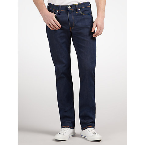 Buy Levi's 511 Slim Fit Jeans, Moss Blue Online at johnlewis.com
