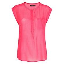 Buy Mango Sleeveless Fine Blouse Online at johnlewis.com
