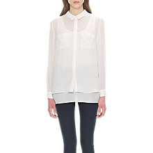 Buy Whistles Double Layer Shirt Online at johnlewis.com