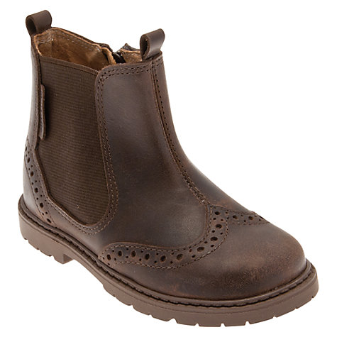 Buy Start-rite Digby Boots, Brown Online at johnlewis.com