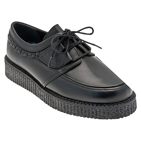 Buy Start-rite Creeper Lace Up Shoes, Black Online at johnlewis.com