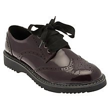 Buy Start-rite Impulsive Lace Up Shoes, Wine Online at johnlewis.com