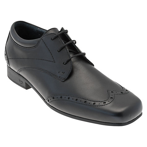Buy Start-rite Divide Lace Up Shoes, Black Online at johnlewis.com