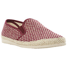 Buy Bertie Feist Check Espadrilles Online at johnlewis.com