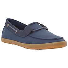 Buy Bertie Tracker Stripe Canvas Boat Shoes Online at johnlewis.com