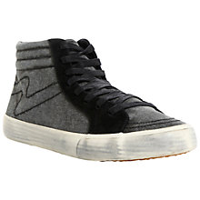 Buy Bertie Trigger Hi-Top Canvas Trainers Online at johnlewis.com