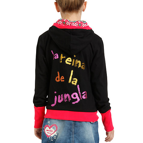 Buy Desigual Diaz Sweater, Black Online at johnlewis.com