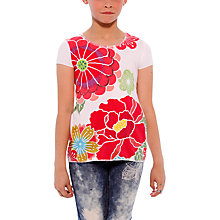 Buy Desigual Aster T-Shirt Online at johnlewis.com