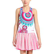 Buy Desigual Turco Dress, Pink Online at johnlewis.com