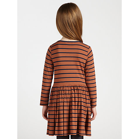 Buy John Lewis Girl Striped Jersey Dress Online at johnlewis.com