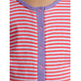 Buy John Lewis Girl Striped Onesie, Red/White Online at johnlewis.com