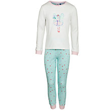 Buy John Lewis Girl Fairy Pyjamas, Multi Online at johnlewis.com