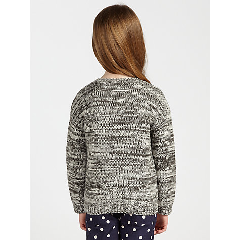 Buy John Lewis Girl Westie Jumper, Grey Online at johnlewis.com