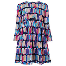 Buy John Lewis Girl Signature Print Dress, Multi Online at johnlewis.com