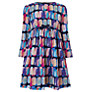 John Lewis Girl Signature Print Dress, Multi