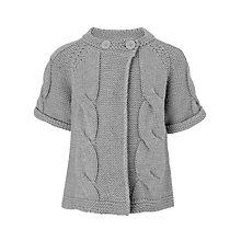 Buy John Lewis Girl Cable Knit Cardigan Online at johnlewis.com