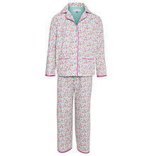 Buy John Lewis Girl Ditsy Print Pyjamas, Multi Online at johnlewis.com