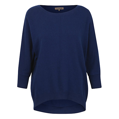 Buy Jigsaw Slouchy Batwing Jumper Online at johnlewis.com