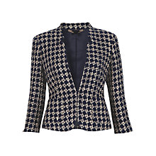 Buy Jigsaw Basketweave Jacket Online at johnlewis.com