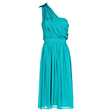 Buy Mango Asymmetric Silk Dress Online at johnlewis.com