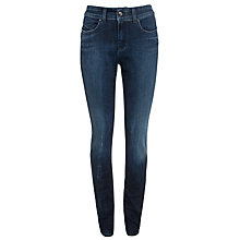 Buy Armani Jeans Washed Slim Leg Jeans, Mid Indigo Online at johnlewis.com