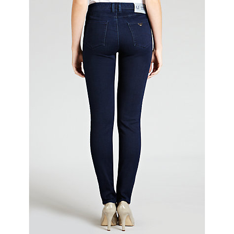 Buy Armani Jeans Powerstretch Slim Leg Jeans, Indigo Online at johnlewis.com