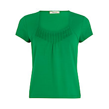 Buy Precis Petite Pintuck Top, Emerald Online at johnlewis.com