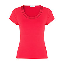 Buy Precis Petite Jersey Top, Red Online at johnlewis.com