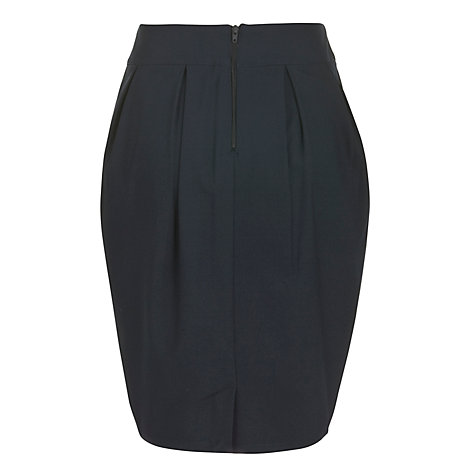 Buy John Lewis Girls' Tulip School Skirt, Navy Online at johnlewis.com