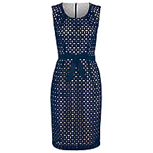 Buy Precis Petite Broderie Anglais Dress, Multi Online at johnlewis.com