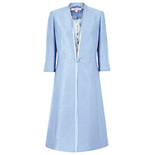 Buy Jacques Vert Dress Coat, Light Blue Online at johnlewis.com
