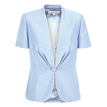 Buy Jacques Vert Fitted Jacket, Light Blue Online at johnlewis.com