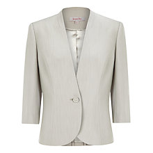 Buy Jacques Vert Occasion Jacket, Cream Online at johnlewis.com
