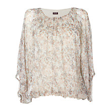 Buy Phase Eight Made in Italy Evviva Bethan Top, Neutral Online at johnlewis.com