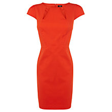 Buy Oasis Cutaway Georgia Dress, Coral Online at johnlewis.com